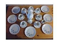 Coffee/Tea service set - Tirschenreuth Baronesse german porcelain