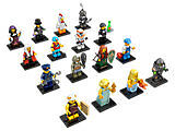 New Lego Minifigure Series 9 Complete Set of 16  Item # 71000