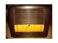 GEC BC4650 Large Bakerlite radio, excellent condition