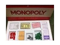 **** 1972 Monopoly Vintage Board Game Stock Nos 402 **** £10