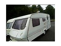 4 BERTH CARAVAN PROJECT NEEDS SOME REPAIRS BUT READY TO USE