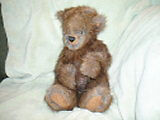 Jointed Teddy Bear, made from fur coat