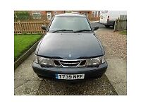 REDUCED £500 SAAB 9-3S TURBO 2LTR PETROL TREG 1999 5 DR HATCHBACK FULL MOT LOW MILEAGE FOR YEAR