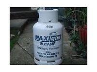 £30 FULL 13kg FloGas/MaxiGas Butane gas bottle/cylinder (same as CALOR GAS) with regulator * BBQ *