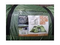 **Vango Icarus 500 Tent and Canopy - £220 BARGAIN**