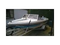 Delta elite stingray 21ft speed boat (project)