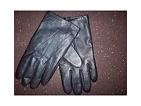 MENS BLACK NAPA LEATHER GLOVES BY OSPREY