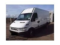HOUSE removal service man with large van hire.removal delivery&collection.from£15!.dump your junk