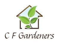 C F Gardeners - Gardening and Hedge Cutting Service **COMPETITIVE RATES**