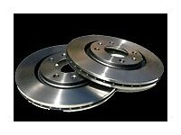 BREMBO Brake Disc Set x2 Rear 330mm Vented VOLKSWAGEN/AUDI/PORSCHE 09.A056.11