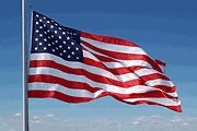 4x6' 2 Ply Polyester - 4X6 4 X 6 FT U.S. AMERICAN FLAG STRONG! 2-PLY POLYESTER