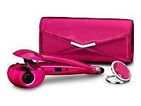 Pink Babyliss Secret Curler with bag and Compact Mirror (Brand New)