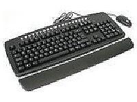 New Wireless Multimedia Full Size Keyboard Black/Grey