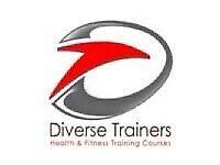 Diverse Trainers Personal Training Course Level 1,2&3 REDUCED