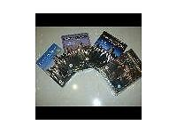 DOWNTON ABBEY WRAPPED DVDS S.1,2,3 AND CHRISTMAS GREAT XMAS GIFT