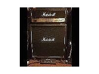 Marshall Stack TSL 100w Triple Super Lead amp head and 1960A speaker cab