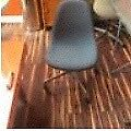 Authentic Eames Herman Miller Upholstered Shell Chair