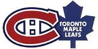 LEAFS AGAINST CANADIENS IN MONTREAL ON OCTOBER 24 2015 AND MORE