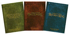 3 Lord of the Ring DVD Extended sets (Mint)