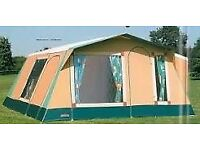 Cabanon Frame Tents (x2) complete with lots of camping equipment - Ready To Go !!