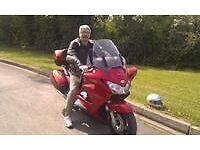 Honda Pan European 1300cc Red , 12 months m.o.t. Everything sound. Top box included.