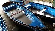 Traditional 14ft Skiff rowing boat