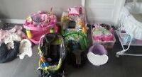 Negociable Lot pour bébé fille - vêtements, banc d'auto ...