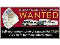 🚩CARAVANS WANTED DAMP VANS BOUGHT