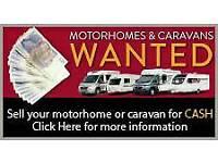 Sell your motorhome or caravan fast damp vans wanted