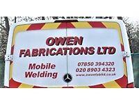welder fabrication needed ASAP