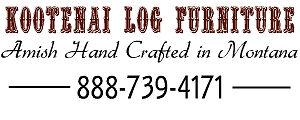 Kootenai Amish Log Furniture