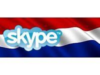 Learn Dutch via Skype