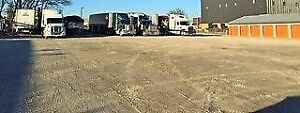 Tractor trailer and RV parking