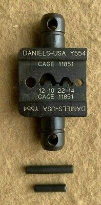 Daniels Dmc Crimp Die Set Y554 Used