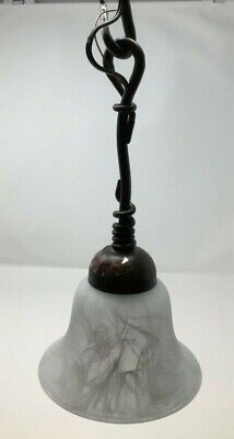 Kalco Lighting Vine Mini Pendant Bark Finish   Model 1841