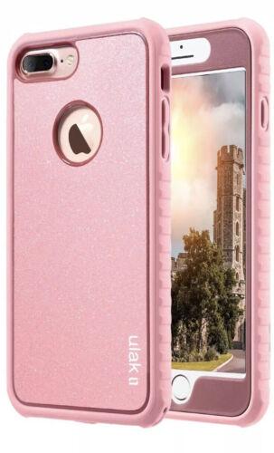 ULAK Glitter Bling Hybrid Full-Body Shockproof Case for iPho