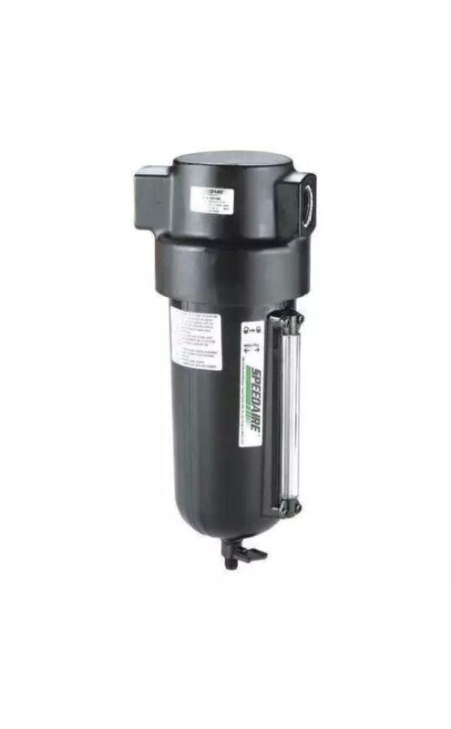 """SPEEDAIRE Compressed Air Filter,1"""" NPT,Heavy-Duty, 4ZL10"""