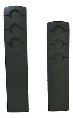 Original Tissot PRS 516 T044417A Black Rubber 20mm Strap Watch Band with Pins