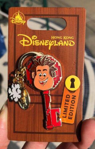 Hkdl Hong Kong Disneyland Disney Wreck It Ralph Key Pin LE400