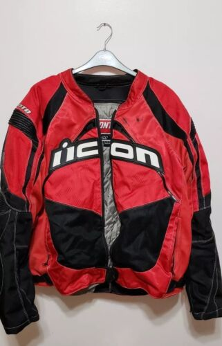 Icon Contra Motorcycle Jacket~Men's 3XL GOOD USED CONDITION