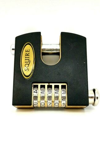 Squire Stronghold  High Security 5-Wheel Re-Codable Combination Padlock SHCB 75