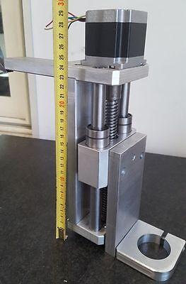 ASSE Z130 mm  PER CNC FRESATRICI STAMPANTI COMPLETO DI STAFFA KRESS