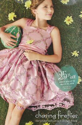 CHASING FIREFLIES Children's Fashion Catalog Easter 2018 GIRLS BOYS