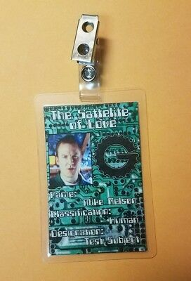 Mystery Science Theater 3000 ID Badge-Mike Nelson costume prop cosplay  for sale  Shipping to Canada