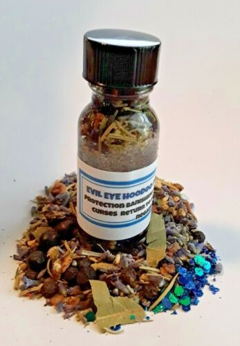 Protection Oil Remove Curses Hexes Evil Eye Oil Hoodoo Conjure Santeria Wicca