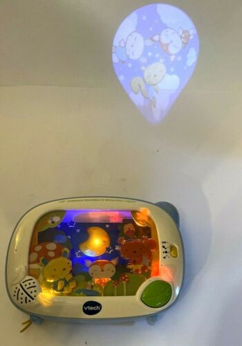 VTech Lil Critters Soothe and Surprise Light Projector Crib Nature Animals Music