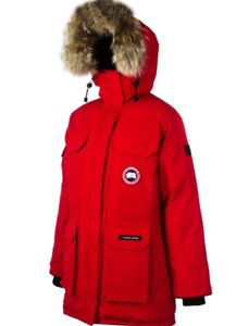 Red Canada Goose Down Parka