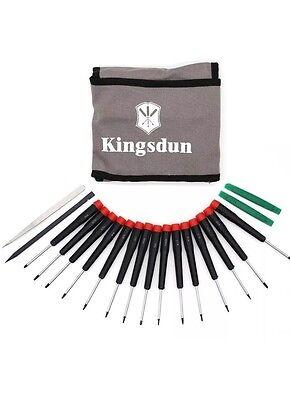 Screwdriver Set Kingsdun Premium 19pcs Best Mini Precision pentalobe Torx Kit