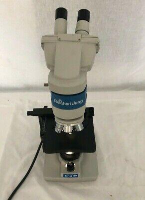 Reichert-jung Series 150 Binocular Microscope W 4 Objectives