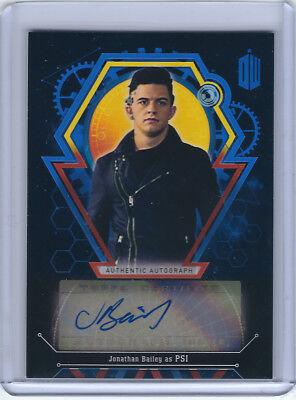 Jonathan Bailey as Psi Blue Autograph Card - Doctor Who - 22/25 - Topps